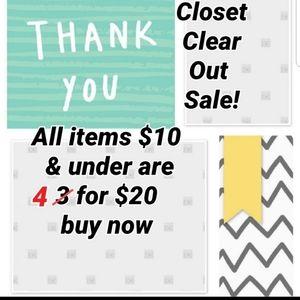 all listings $10 & under must go  bundle bundle bu